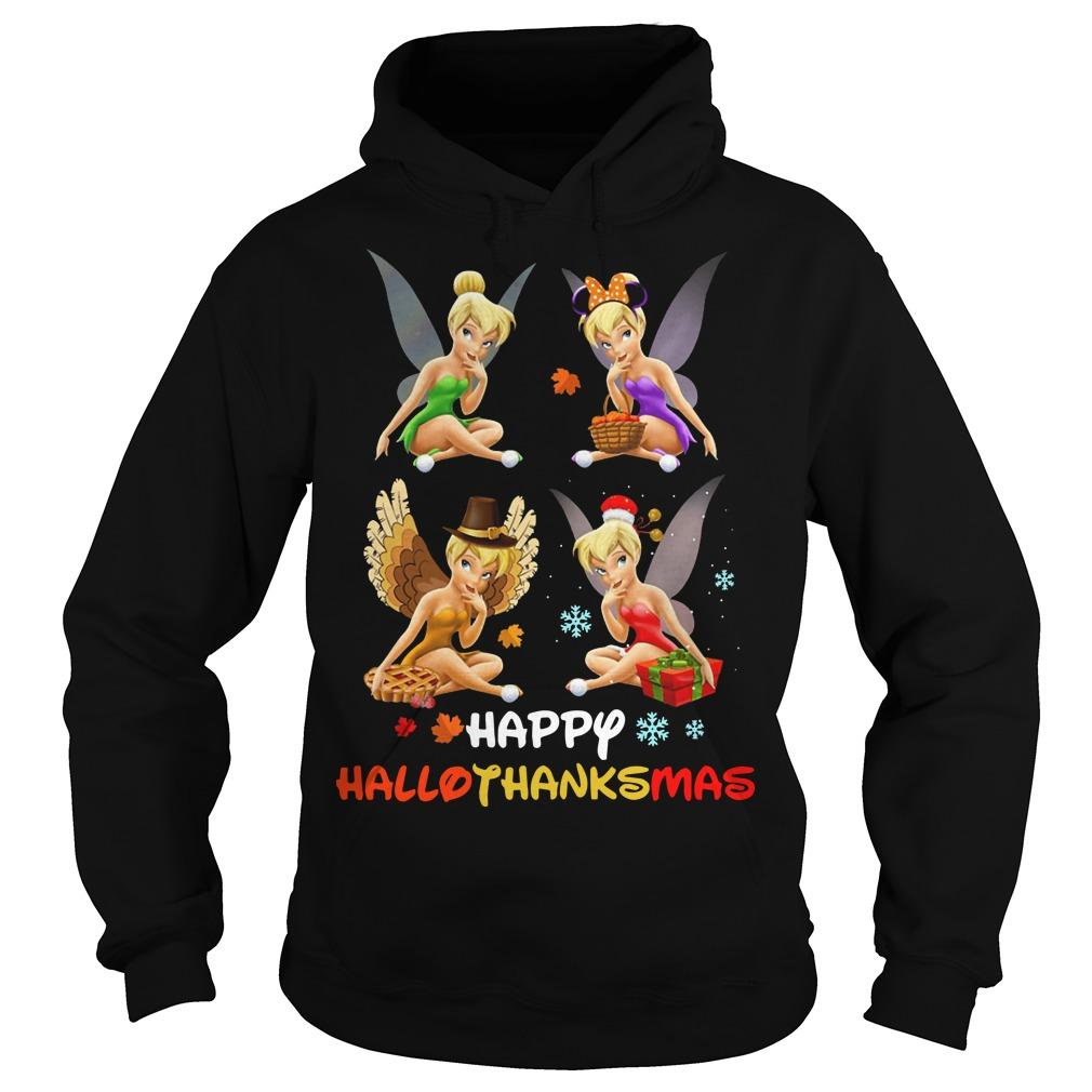 Tinkerbell Happy Hallothanksmas Hoodie