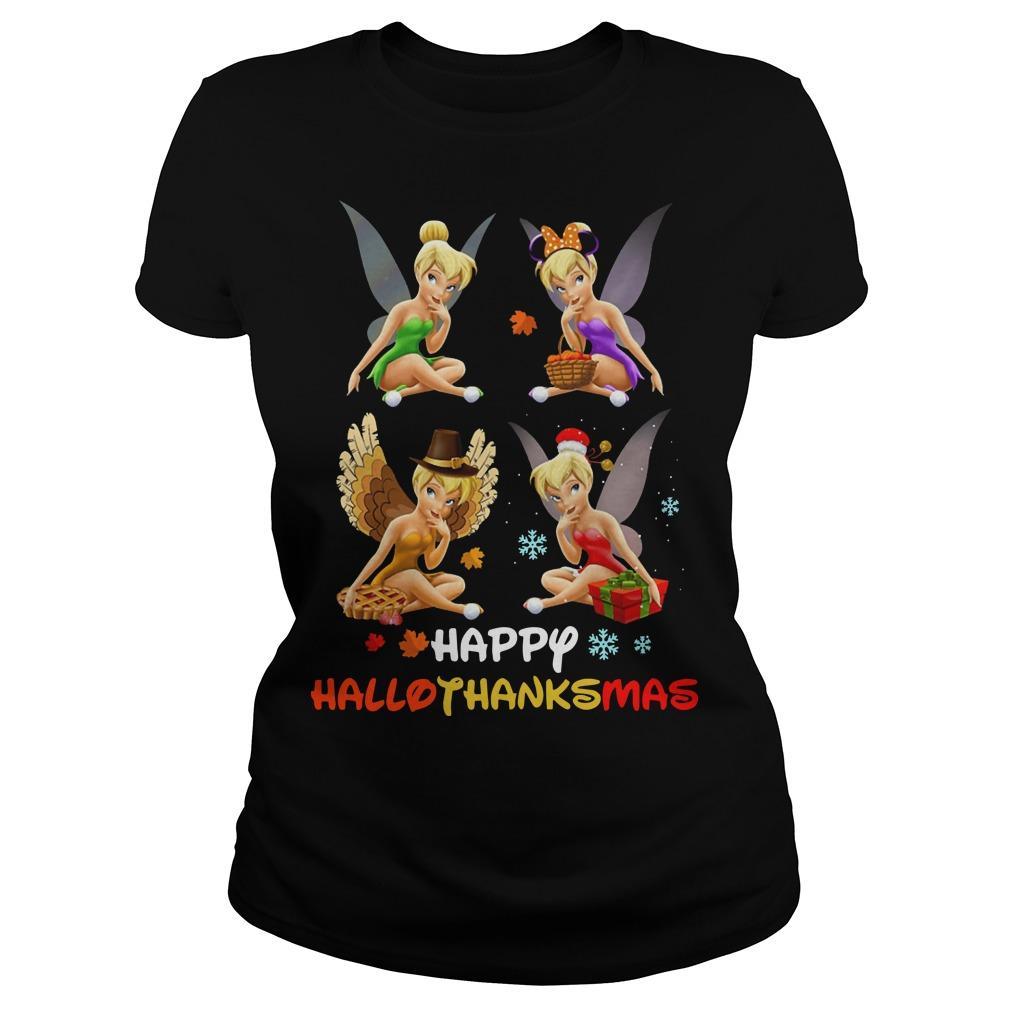 Tinkerbell Happy Hallothanksmas Longsleeve
