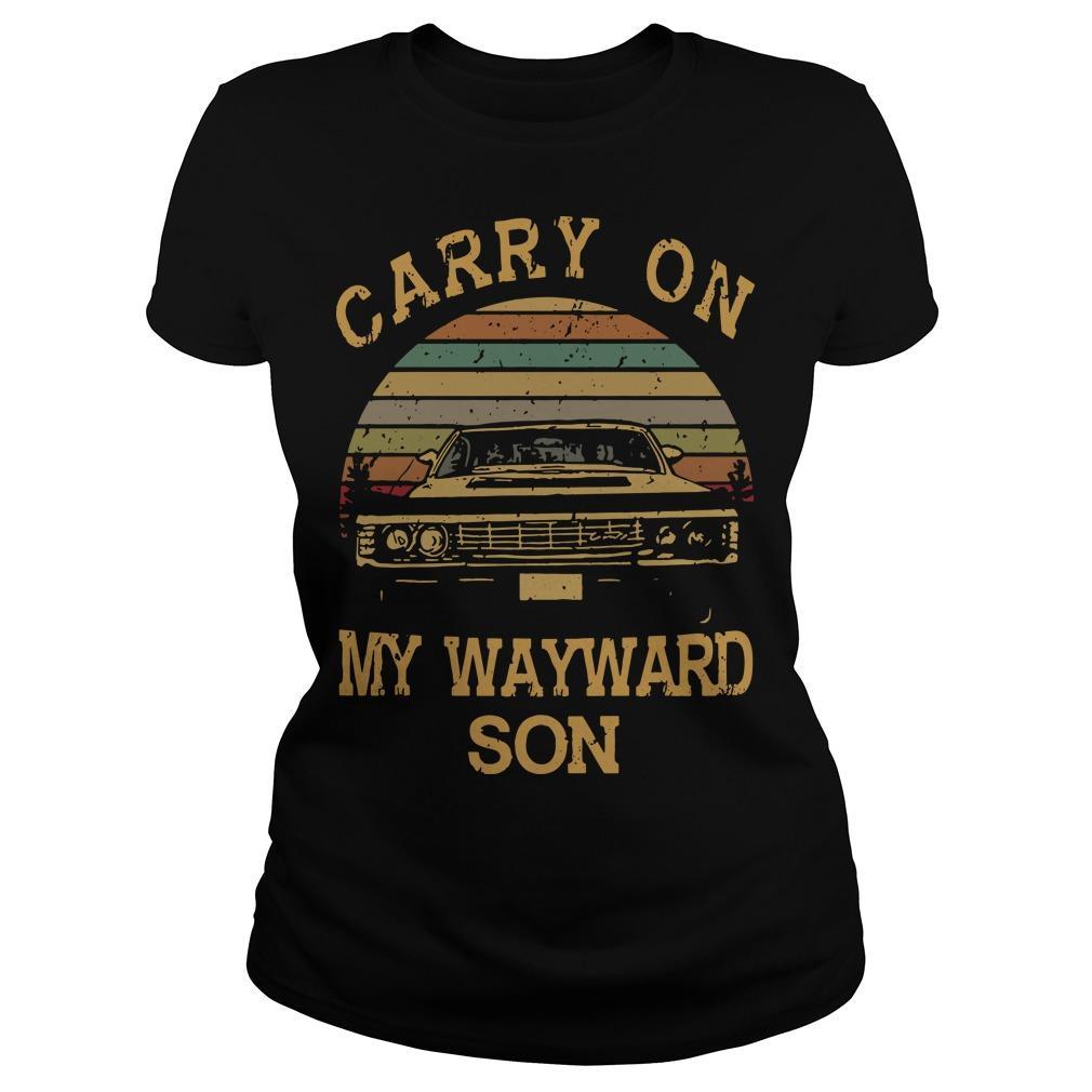 Vintage Carry On My Wayward Son Longsleeve