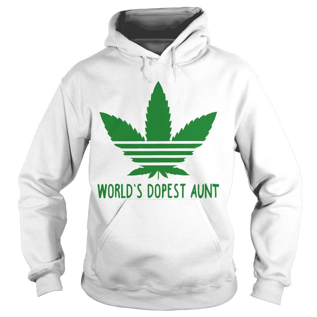 World's Dopest Aunt Hoodie