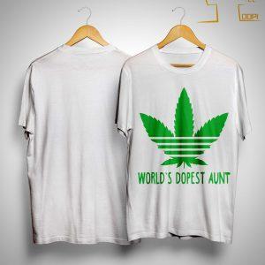 World's Dopest Aunt Shirt