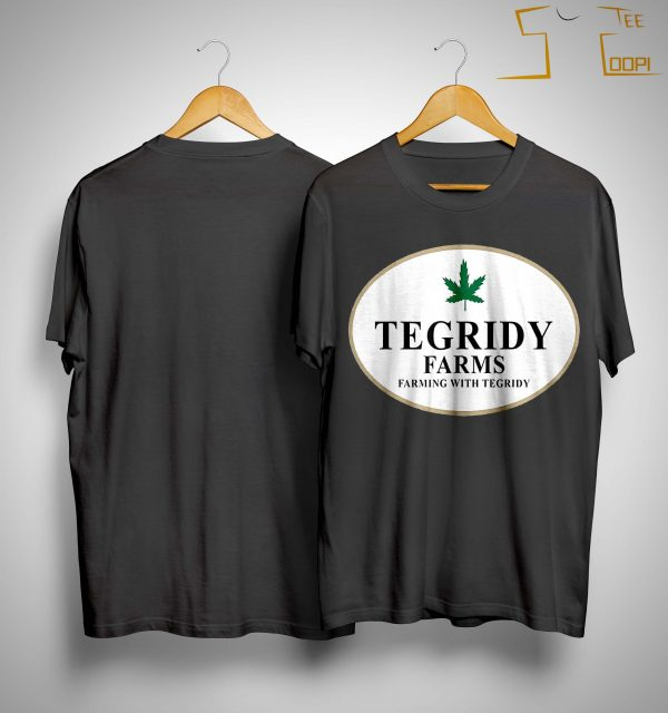 100 Hemp Tegridy Farms Shirt
