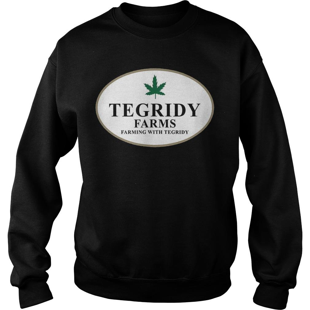 100 Hemp Tegridy Farms Sweater