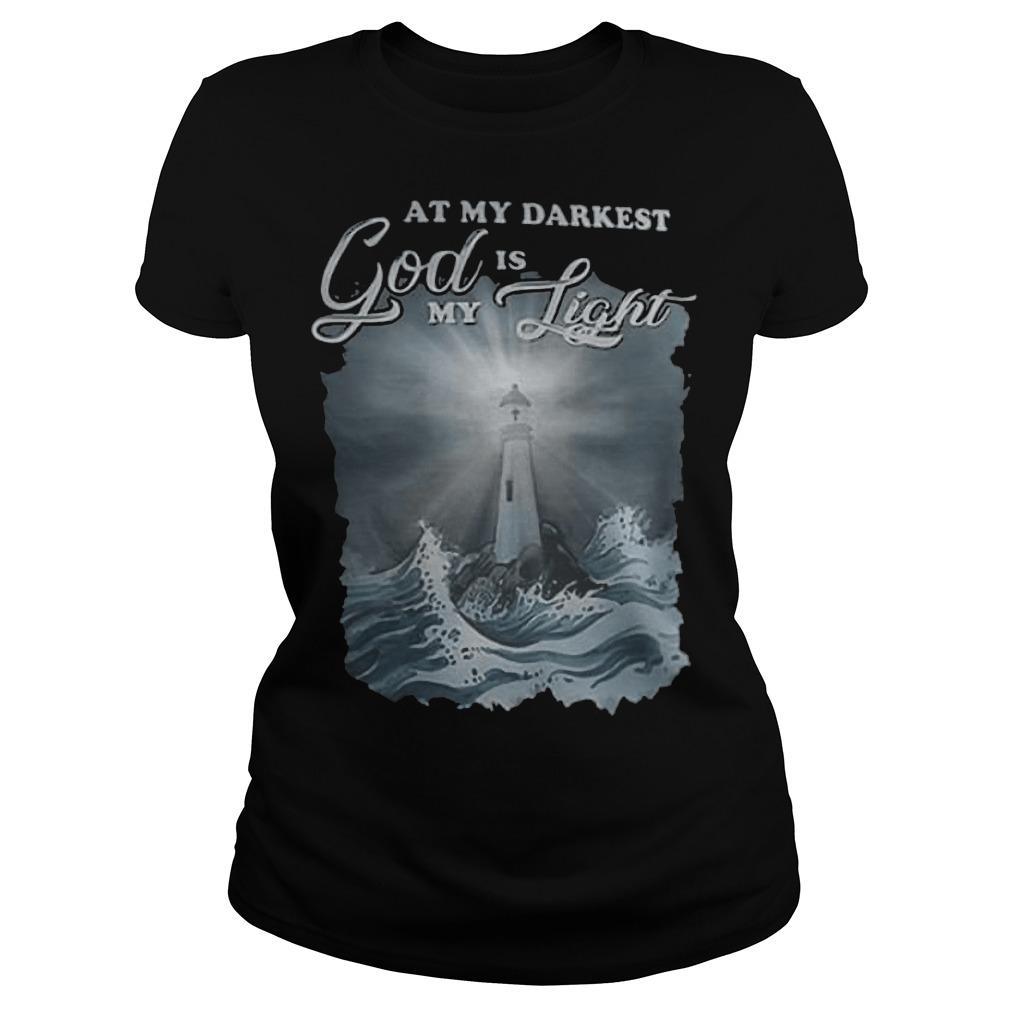 At My Darkest God Is My Light Longsleeve