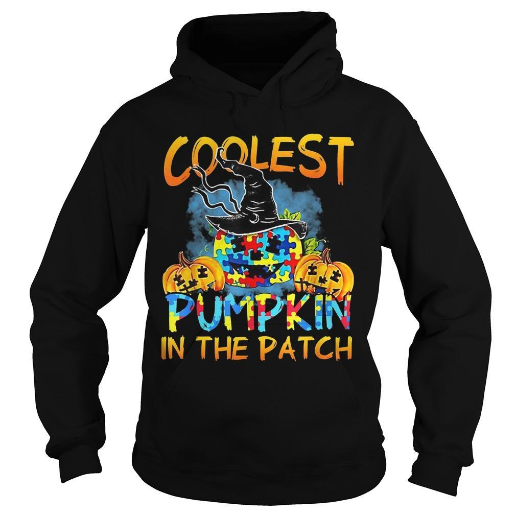Autism Coolest Pumpkin In The Patch Hoodie