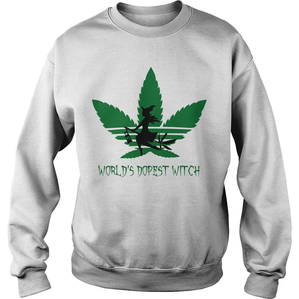 Cannabis World's Dopest Witch Sweater