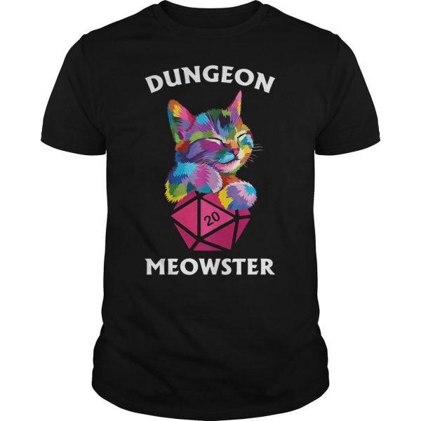Cat Dungeon Meowster Shirt