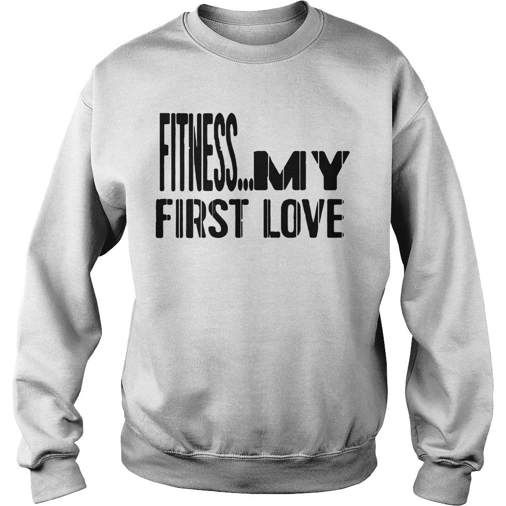 Fitness My First Love Sweater