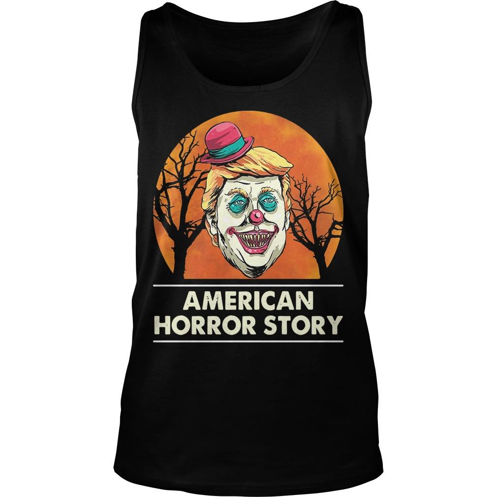 Halloween Trump American Horror Story Tank Top