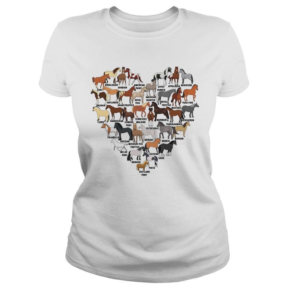 Heart Love Horse Longsleeve