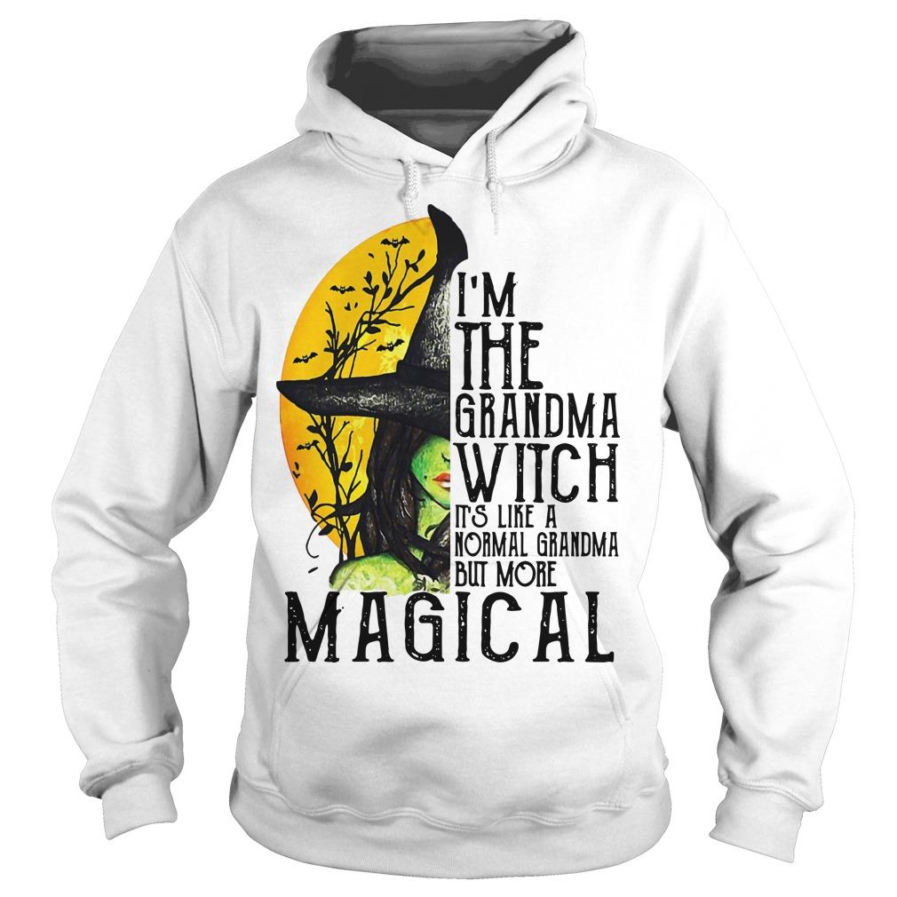 I'm The Grandma Witch It's Like A Normal Grandma But More Magical Hoodie
