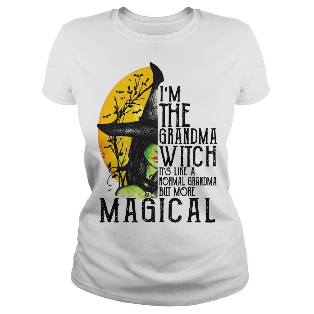 I'm The Grandma Witch It's Like A Normal Grandma But More Magical Longsleeve