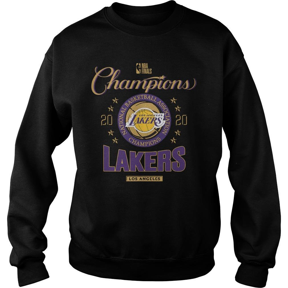 La Lakers Championship Sweater