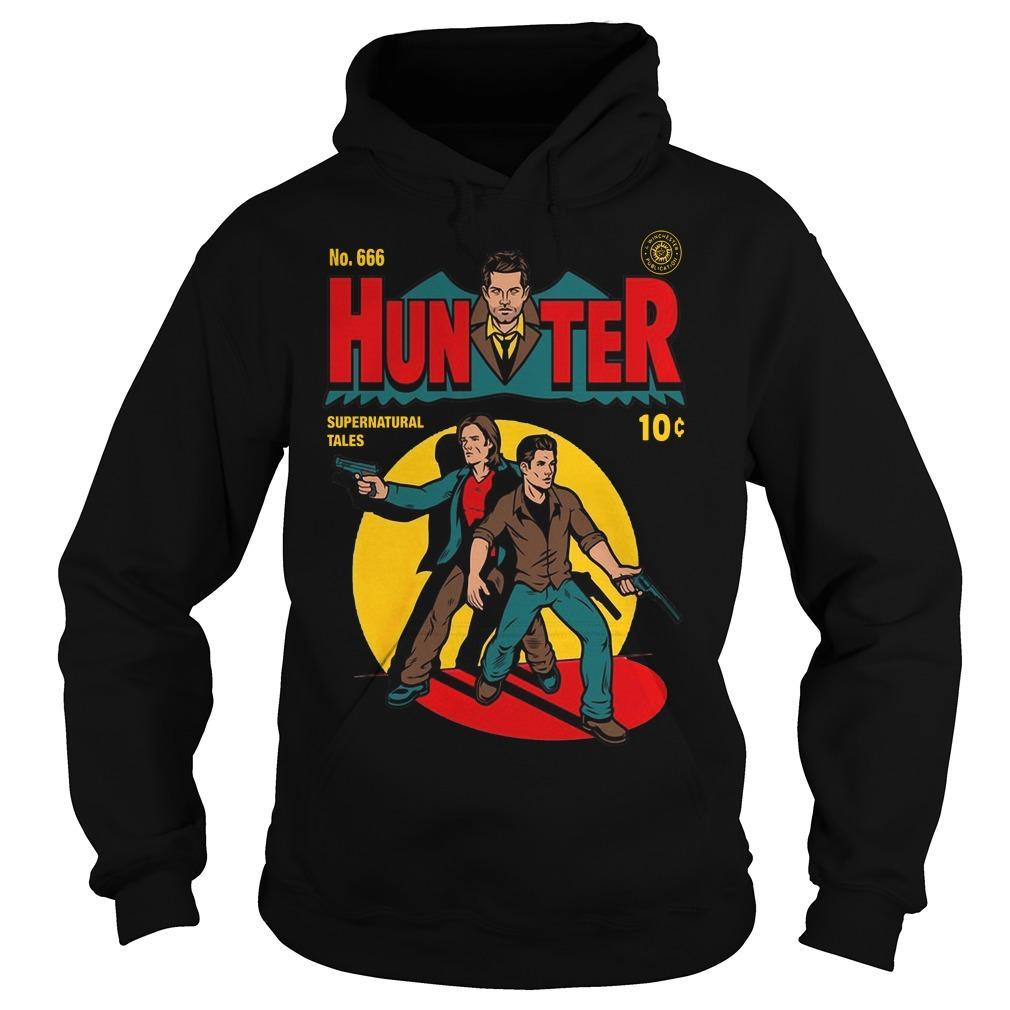 No 666 Hunter Supernatural Tales Hoodie