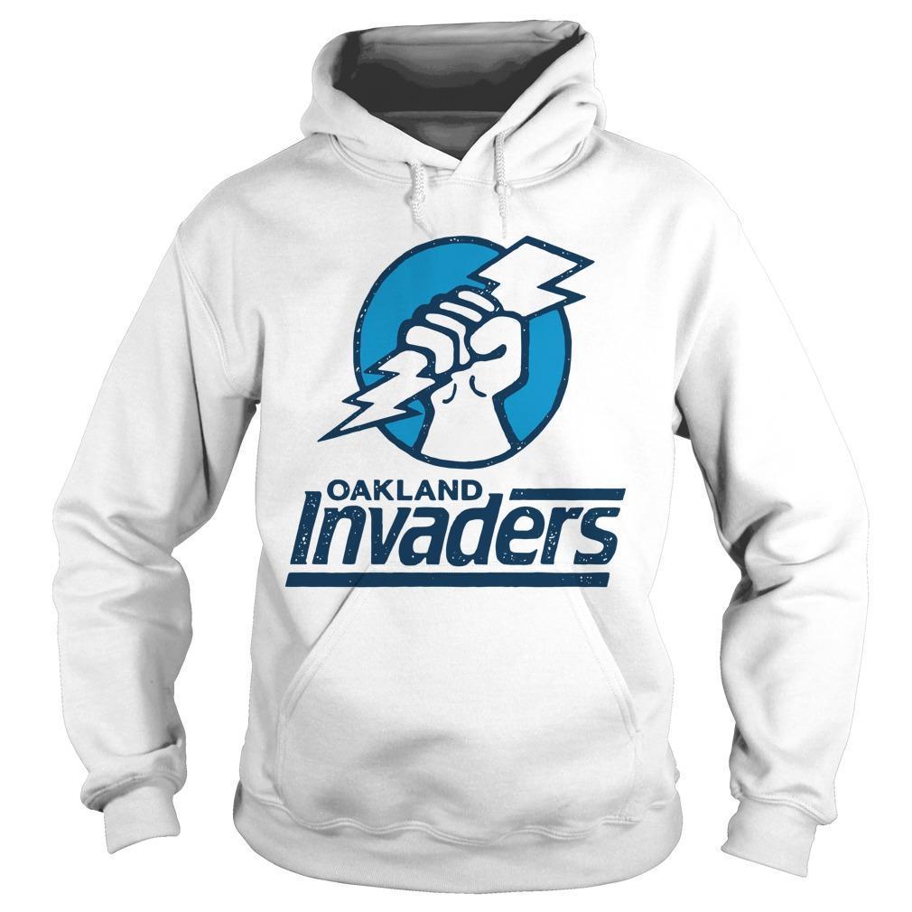 Oakland Invaders Hoodie