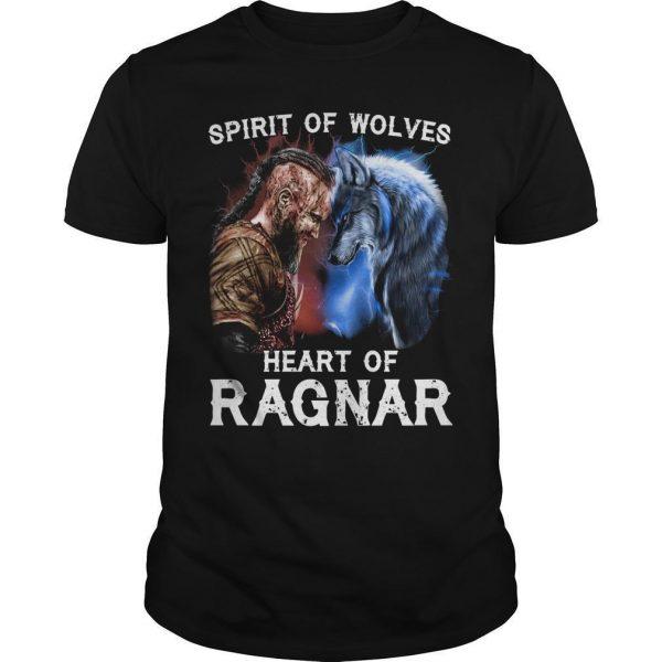 Spirit Of Wolves Heart Of Ragnar Shirt