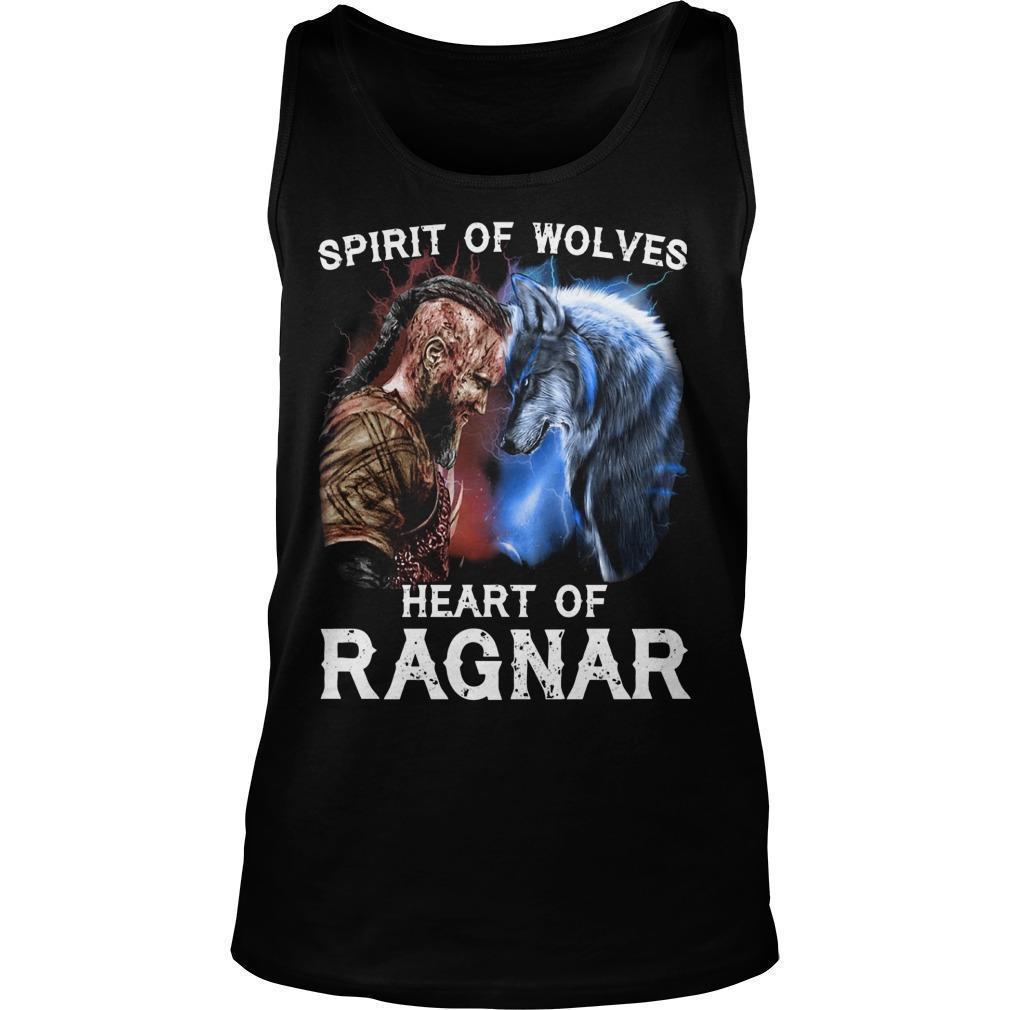 Spirit Of Wolves Heart Of Ragnar Tank Top