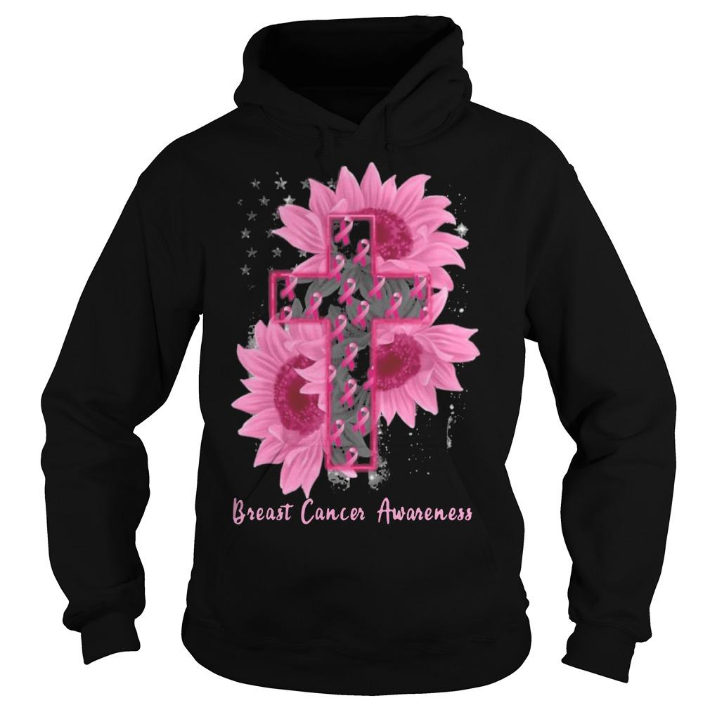 Sunflower Breast Cancer Awareness Hoodie