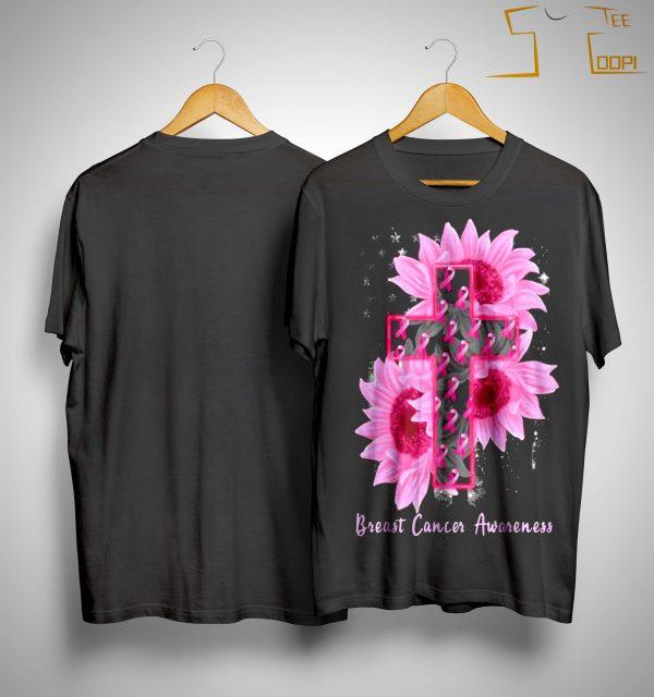Sunflower Breast Cancer Awareness Shirt