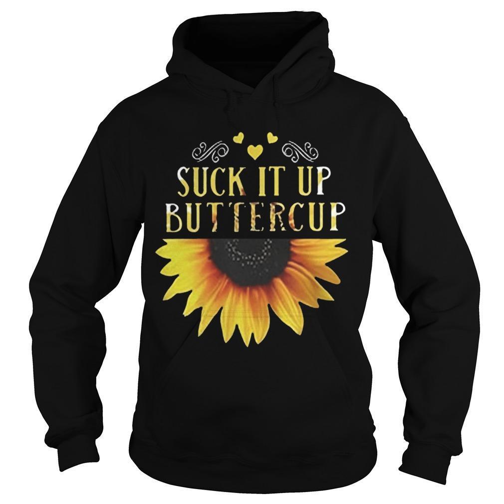Sunflower Suck It Up Buttercup Hoodie