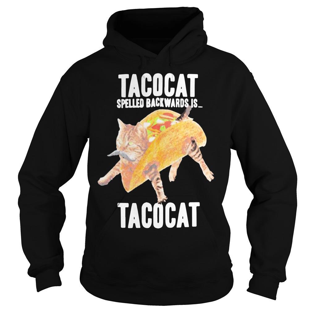 Tacocat Spelled Backwards Is Tacocat Hoodie