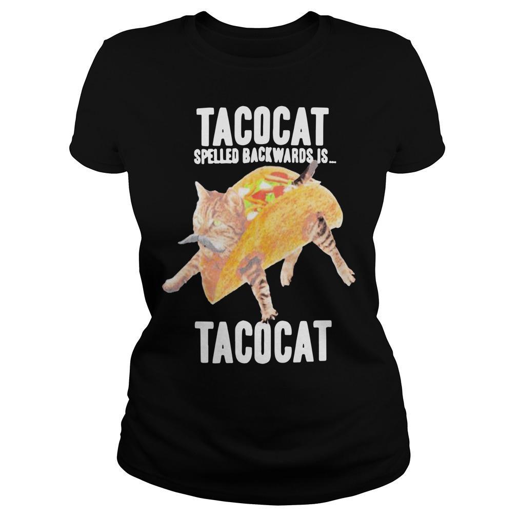 Tacocat Spelled Backwards Is Tacocat Longsleeve