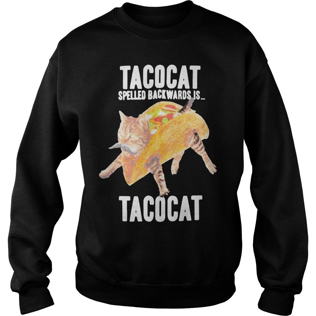 Tacocat Spelled Backwards Is Tacocat Sweater