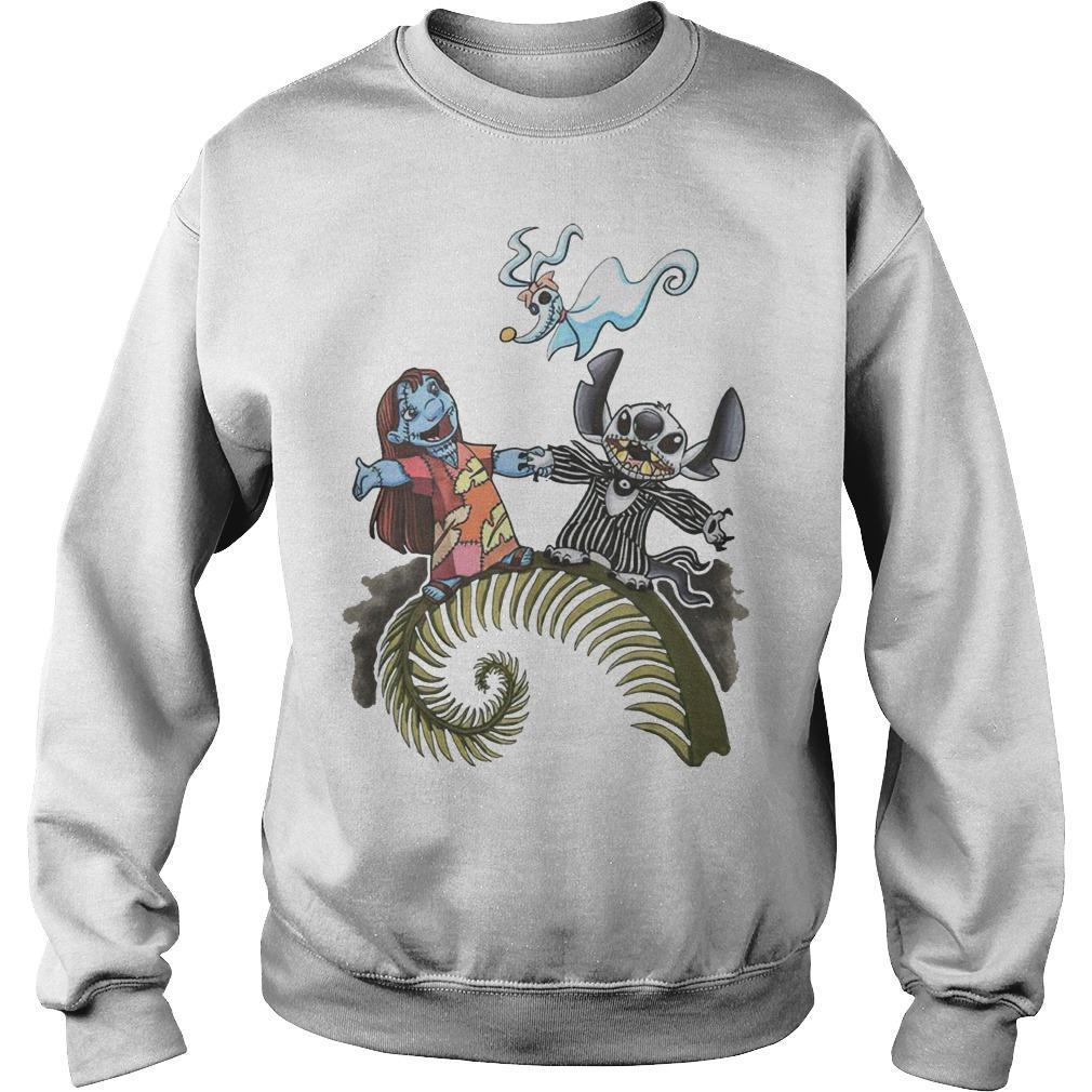 The Nightmare Before Christmas Lilo And Stitch Sweater