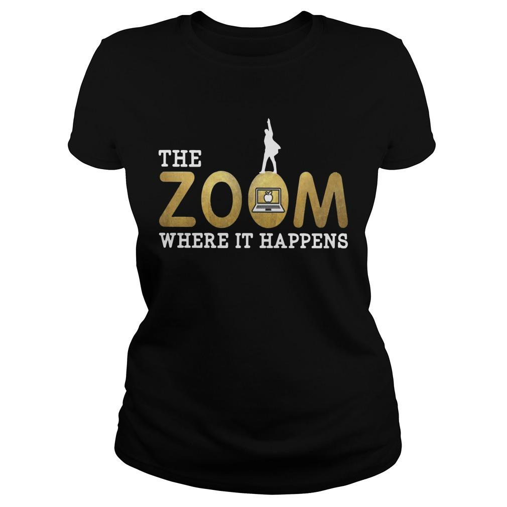 The Zoom Where It Happens Longsleeve