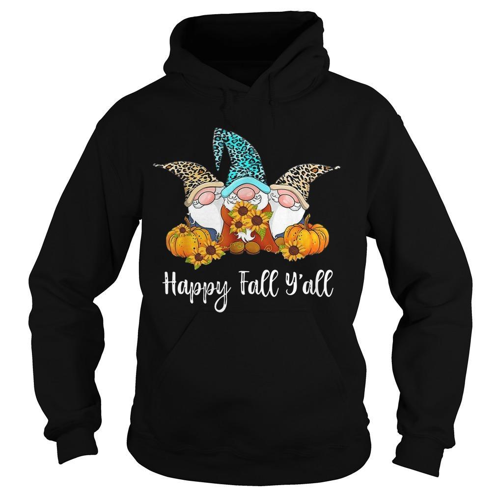 Three Gnomes Happy Fall Y'all Hoodie
