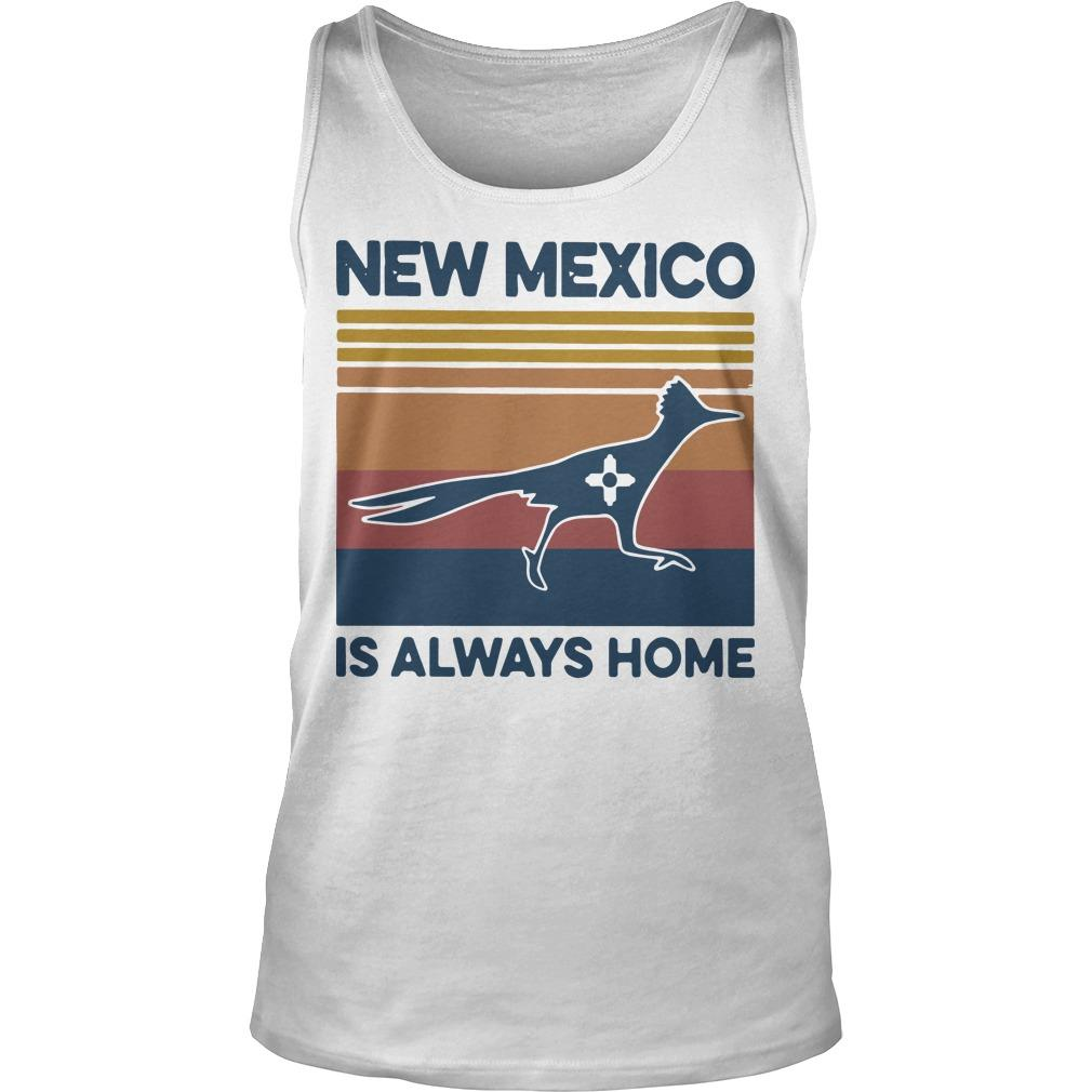 Vintage New Mexico Is Always Home Tank Top