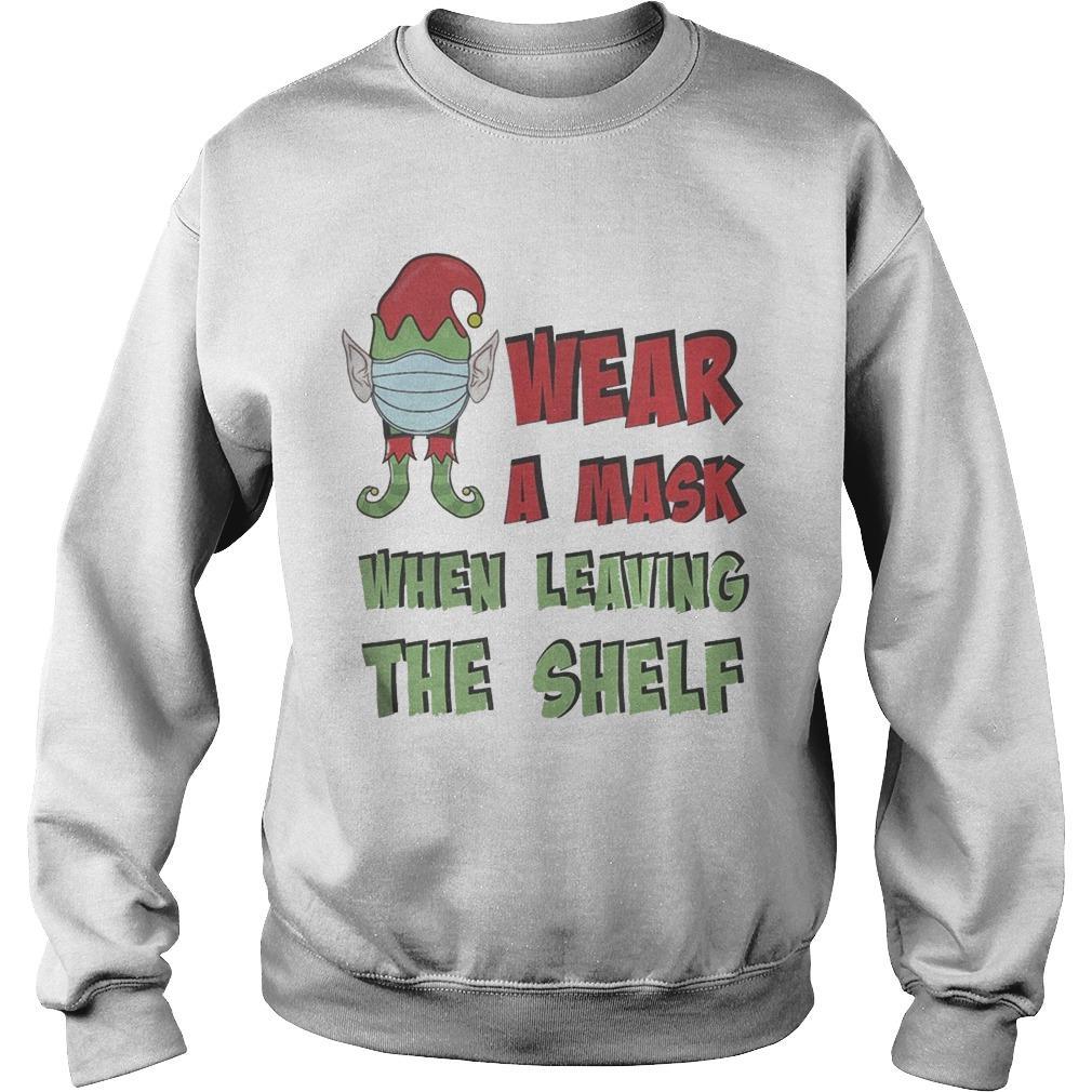 Wear A Mask When Leaving The Shelf Sweater