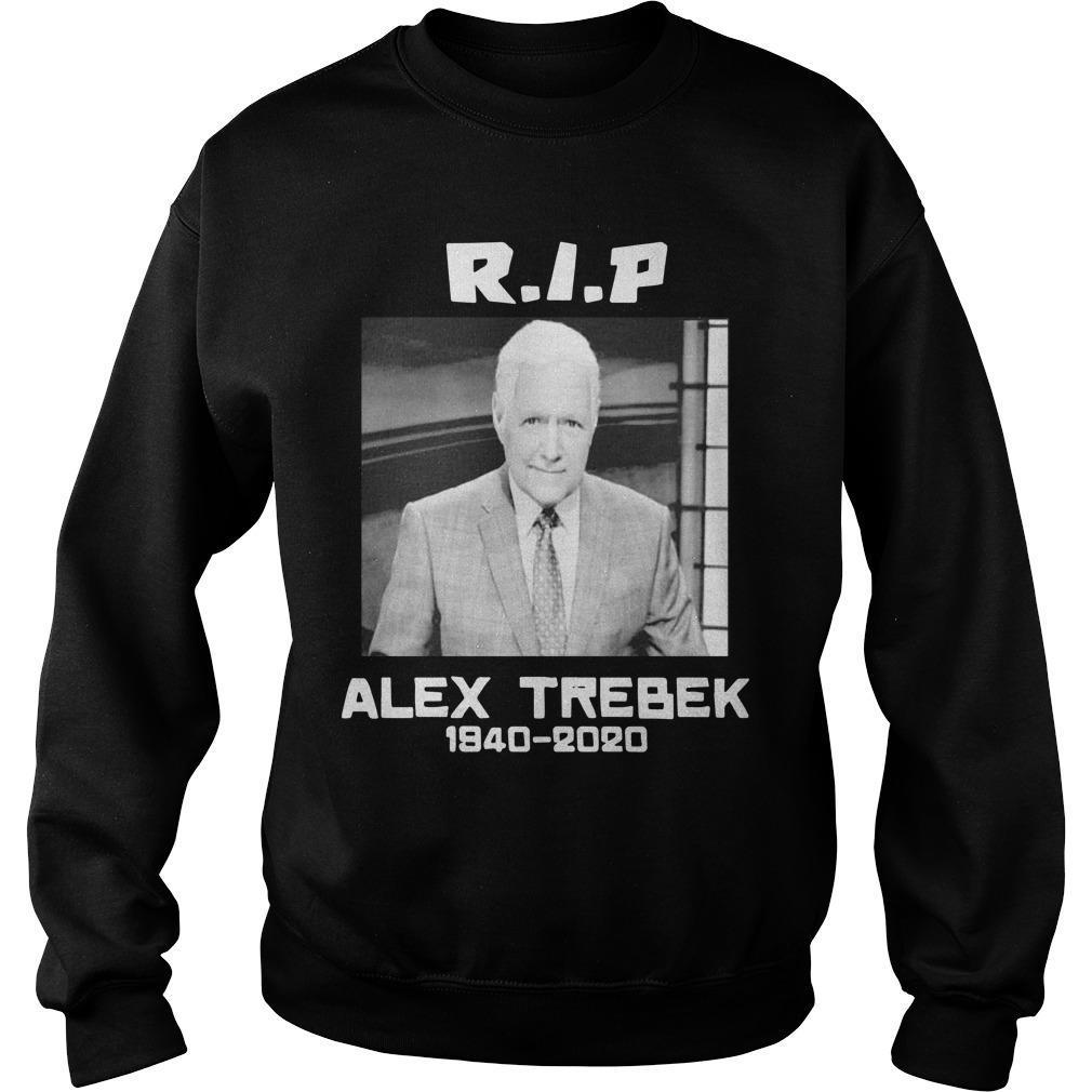Alex Trebek 1940 2020 Rip Sweater