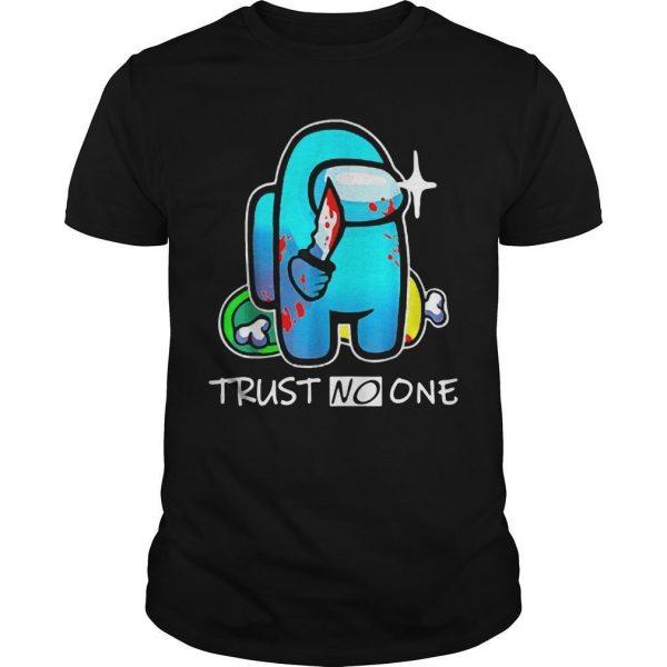 Among Us Impostor Trust No One Shirt
