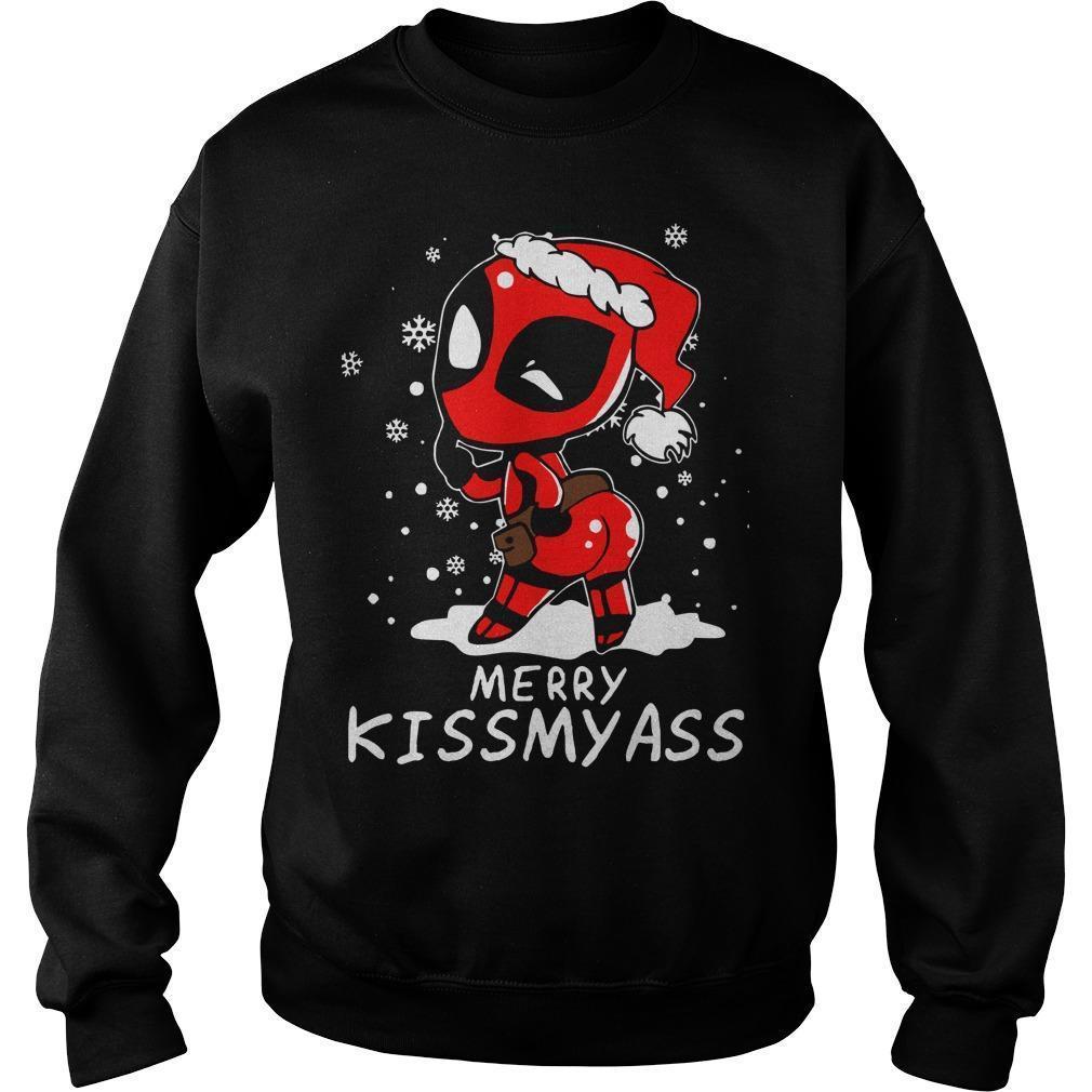 Christmas Deadpool Merry Kissmyass Sweater