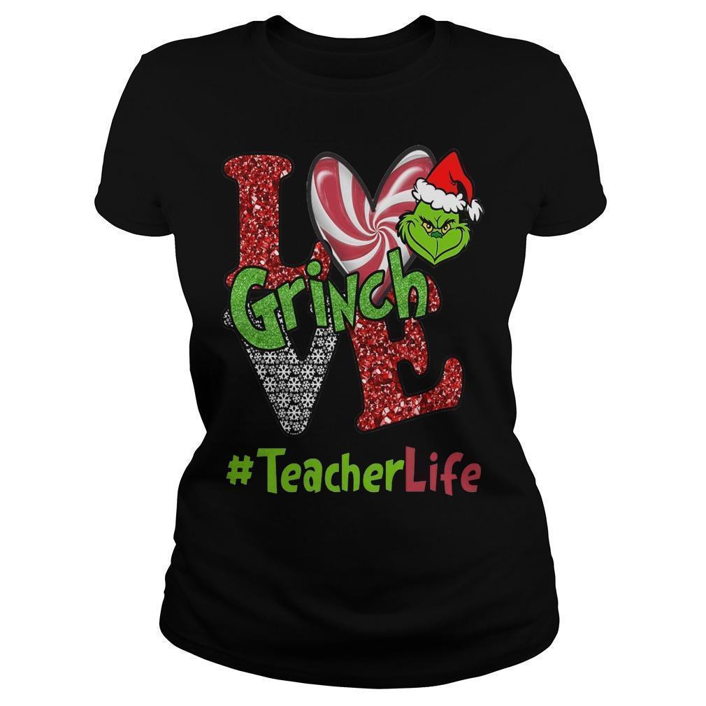 Christmas Love Grinch #teacherlife Longsleeve