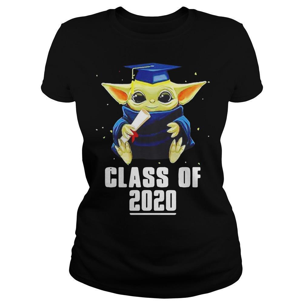 Class Of 2020 Baby Yoda T Longsleeve