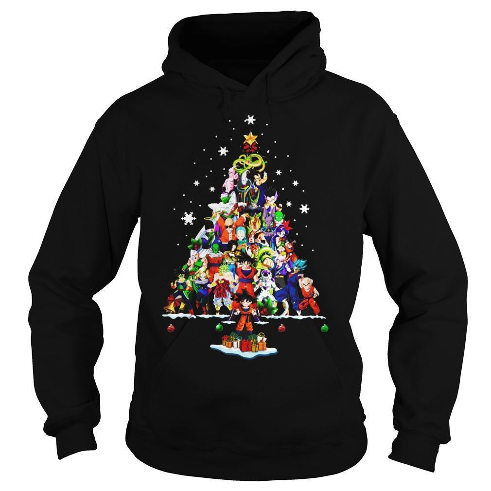 Dragon Ball Christmas Tree Hoodie