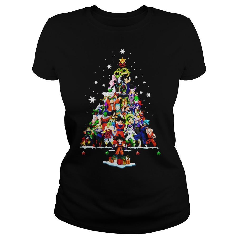 Dragon Ball Christmas Tree Longsleeve