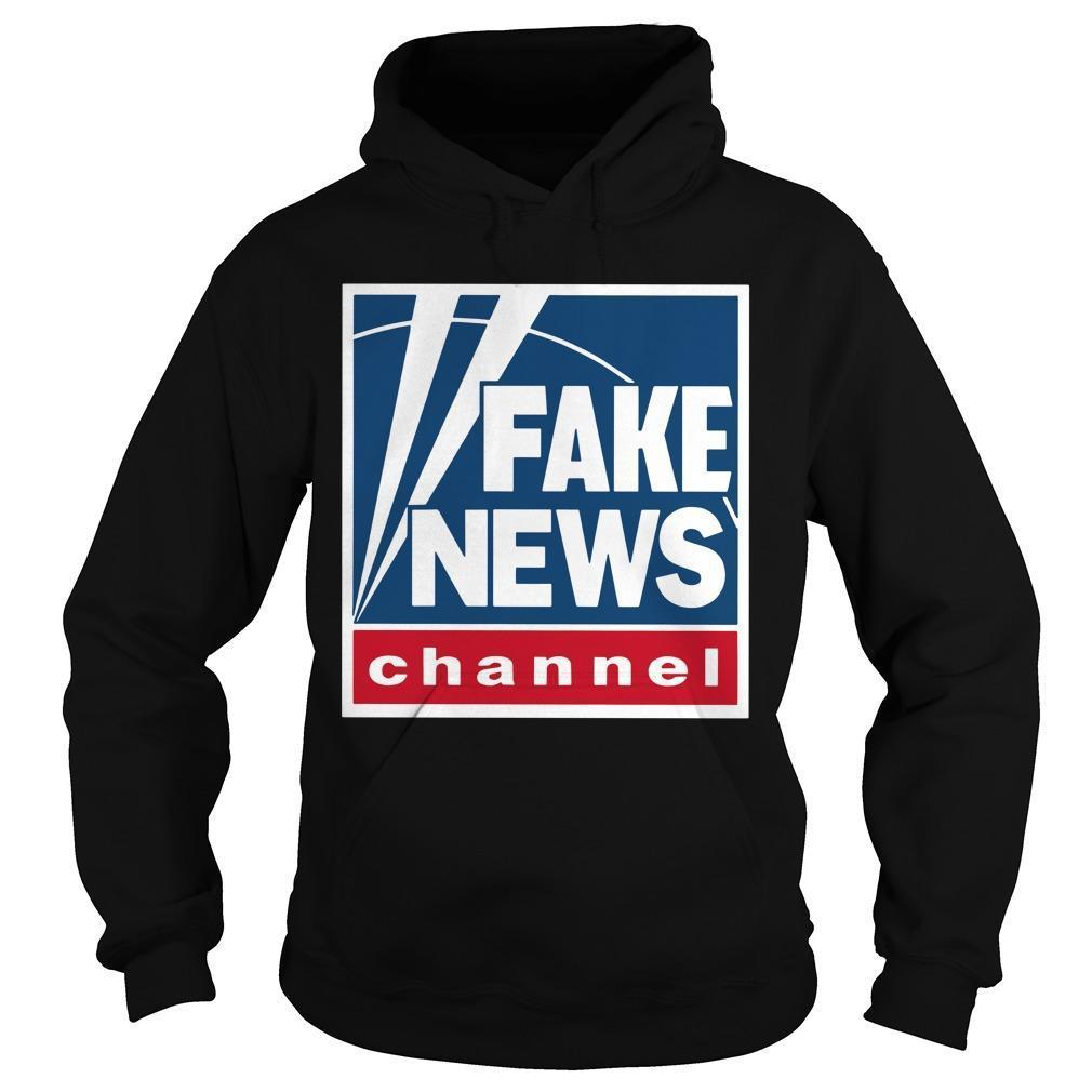 Fake News Channel Hoodie
