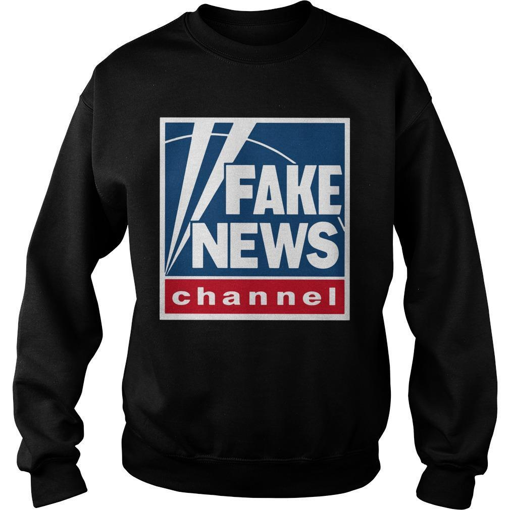 Fake News Channel Sweater