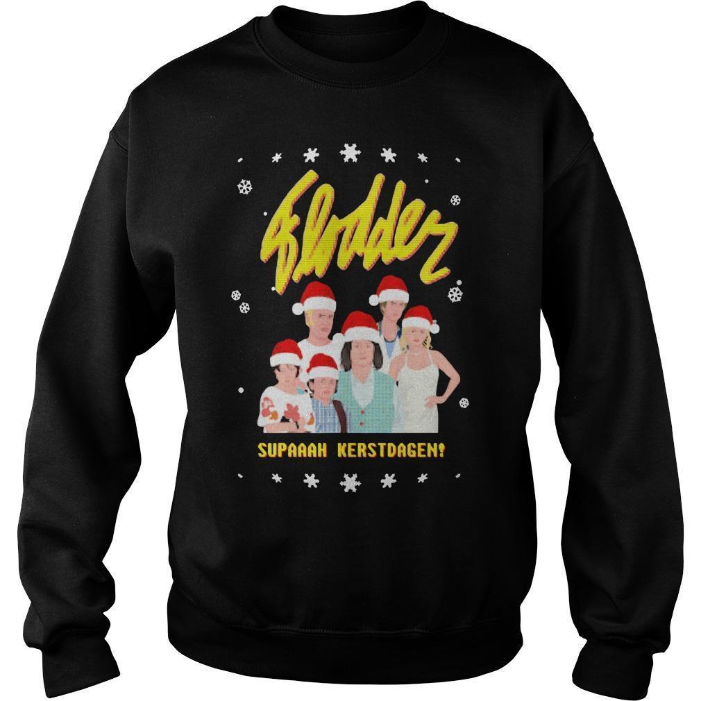 Flodder Supaaah Kerstdagen Sweater