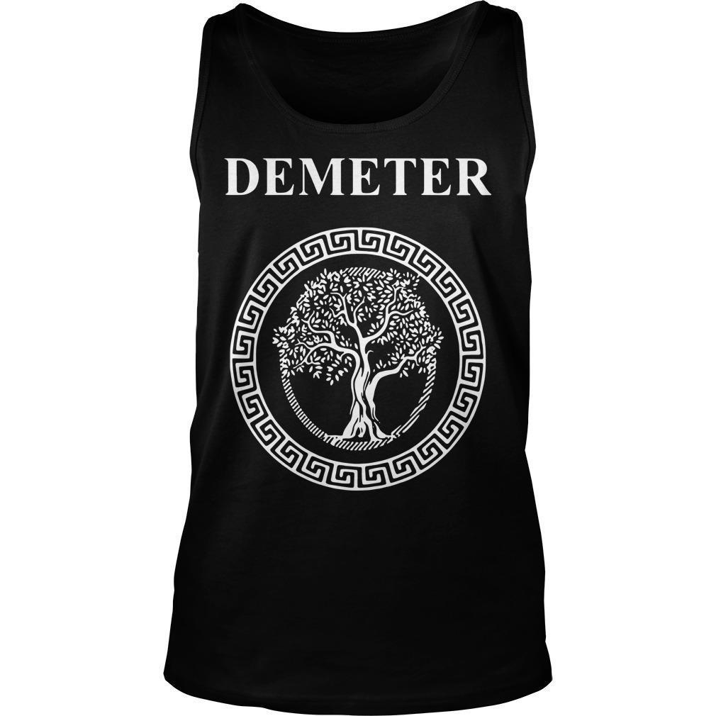 Greek Goddess Of Fertility Growth And Life Demeter Tank Top