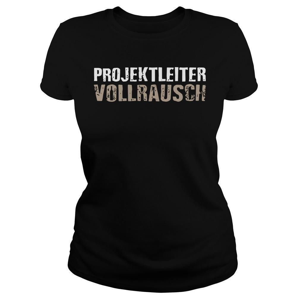 Projektleiter Vollrausch Longsleeve