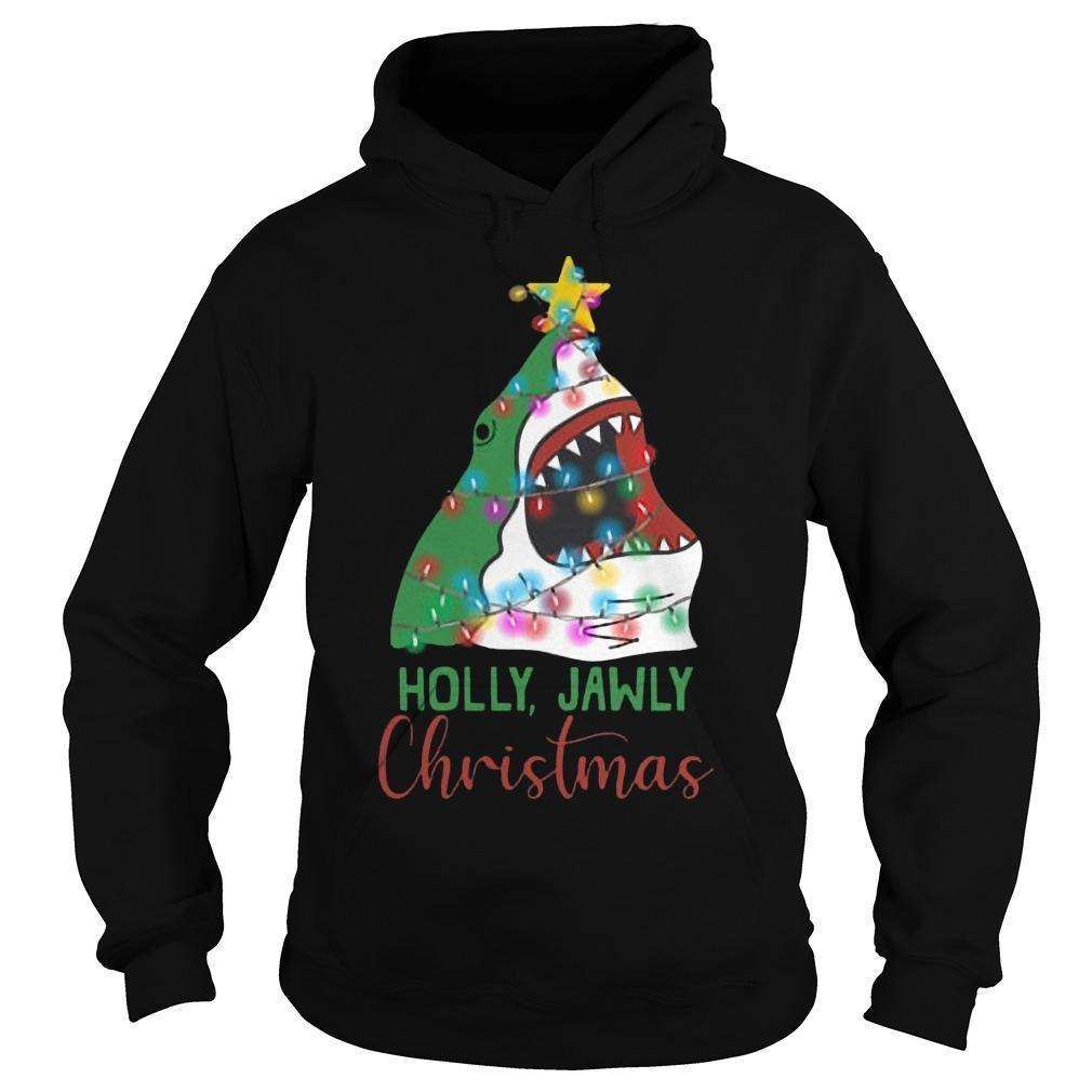 Shark Holly Jawly Christmas Hoodie