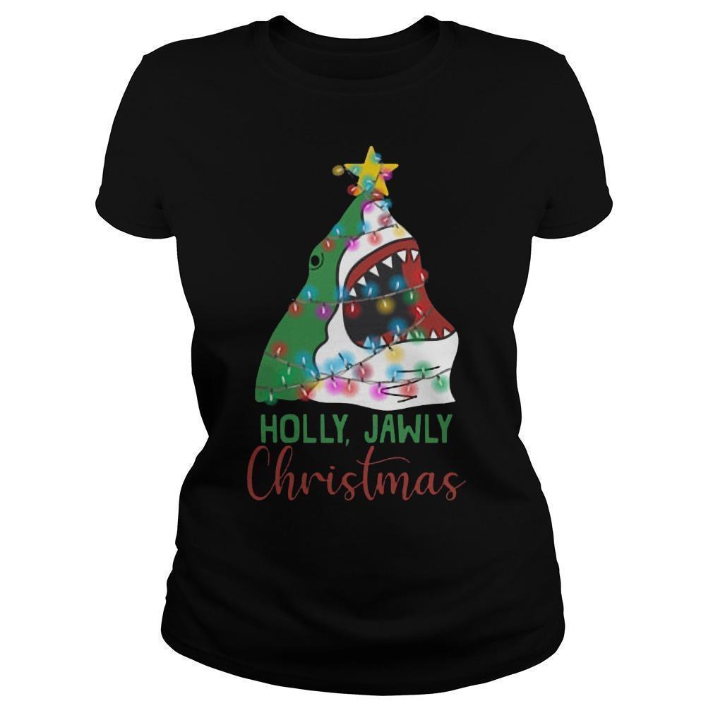 Shark Holly Jawly Christmas Longsleeve