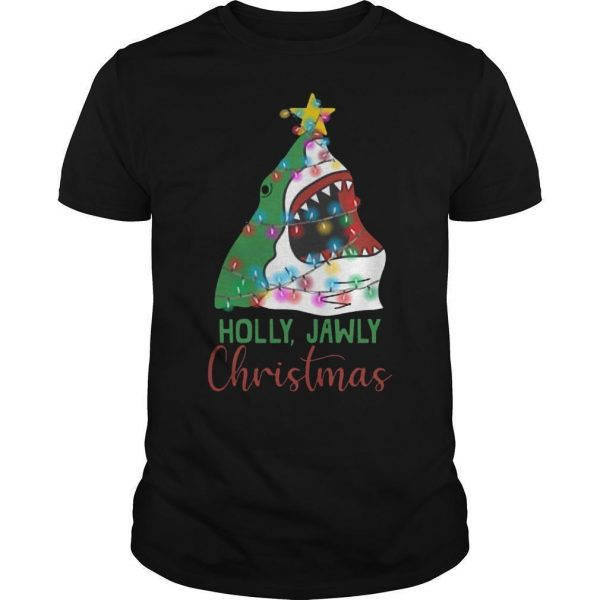 Shark Holly Jawly Christmas Shirt