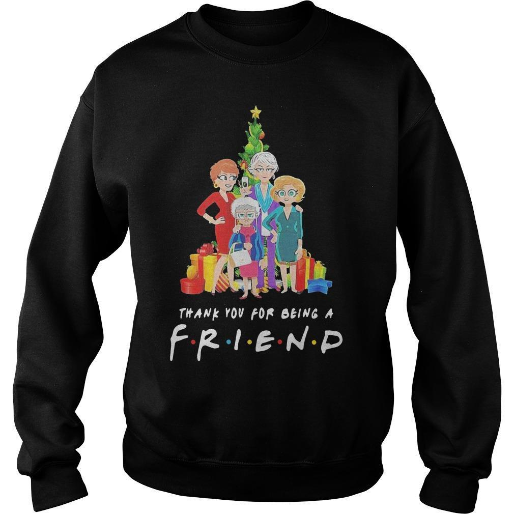 The Golden Girl Thank You For Being A Friends Christmas Sweater