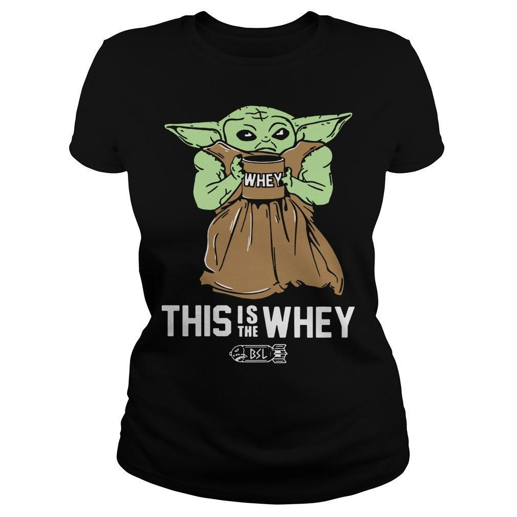 This Is The Whey Baby Yoda T Longsleeve