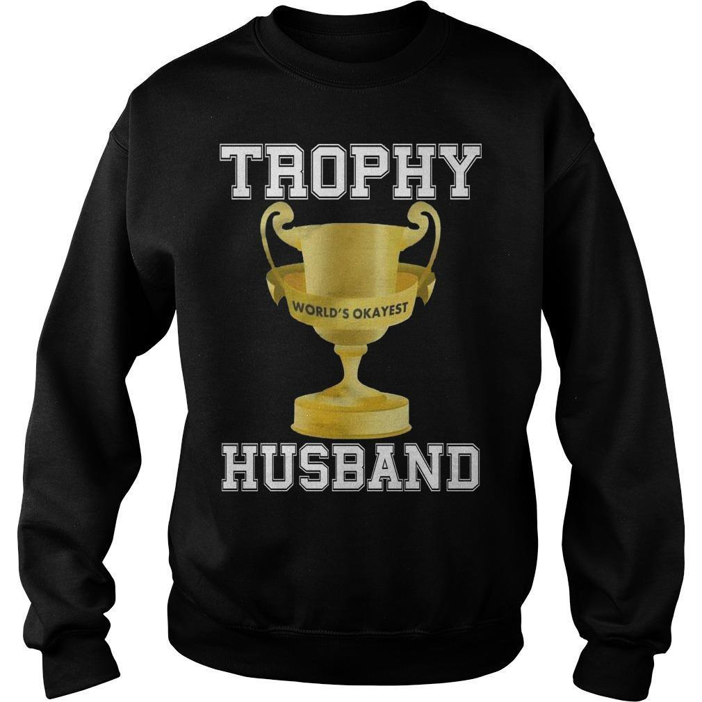 Trophy World's Okayest Husband Sweater